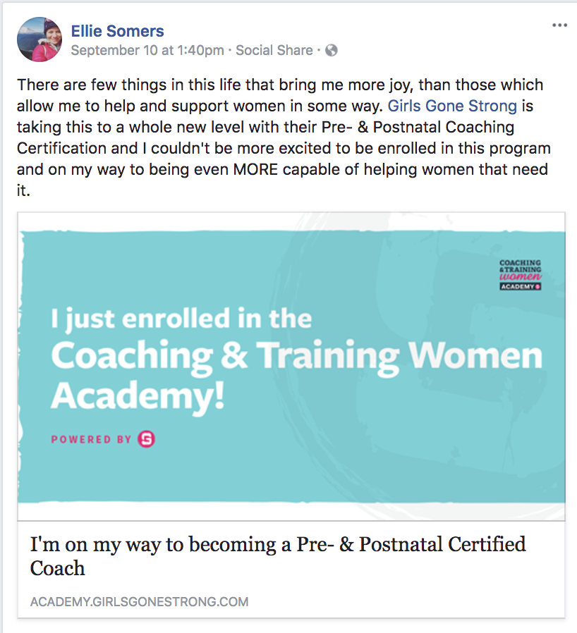 Welcome To The Coaching Training Women Academy
